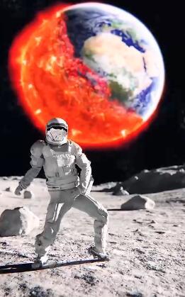 微信状态视频宇宙跳舞下载