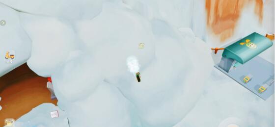 摩尔庄园卡bug雪山